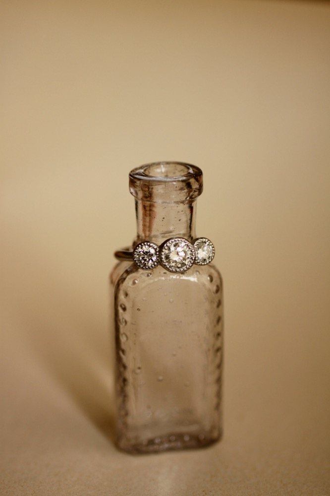Pt900/Diamond